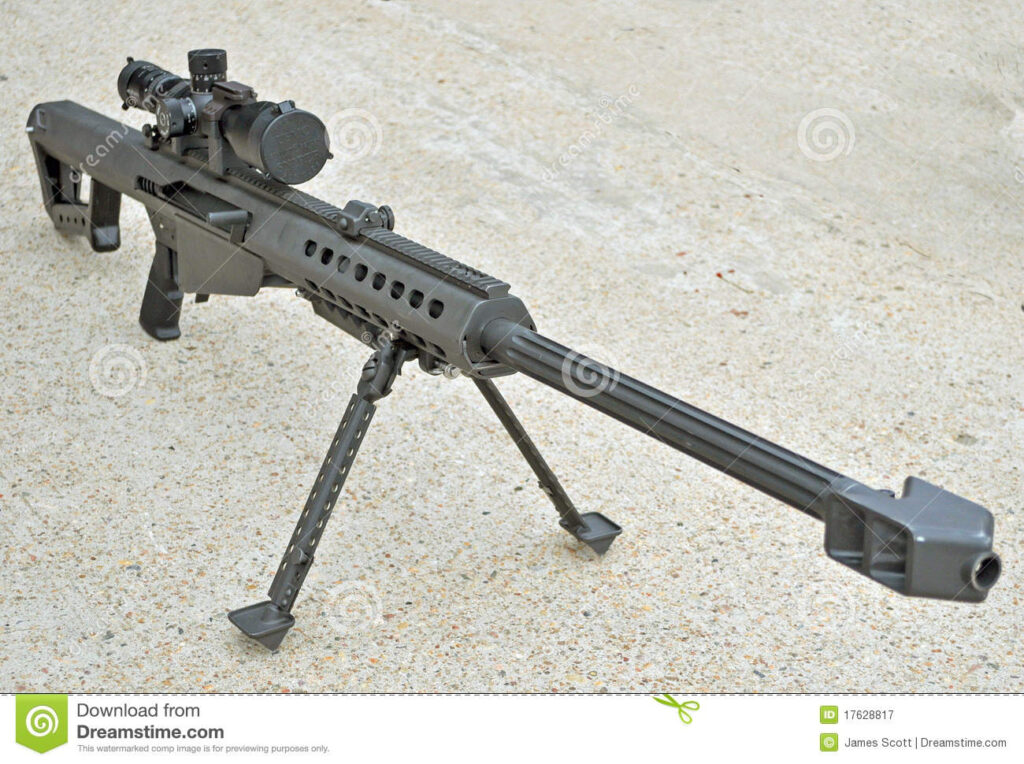 A bad plan for a sniper rifle